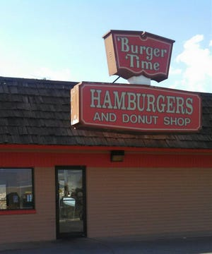 It's Burger Time is pictured in this undated photo in Las Cruces, New Mexico.