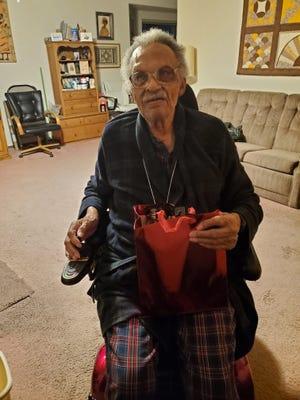 Tuskegee Airman James Clayton Flowers turned 105 on Christmas Day 2020.