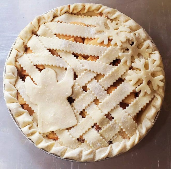 A Deckerville man purchased about 75 pies to help spread his late great-aunt's legacy of love.