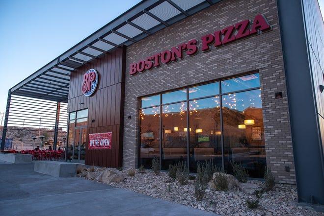 Boston's Pizza Restaurant & Sports Bar has opened a new West El Paso location at 340 Vin Rambla.