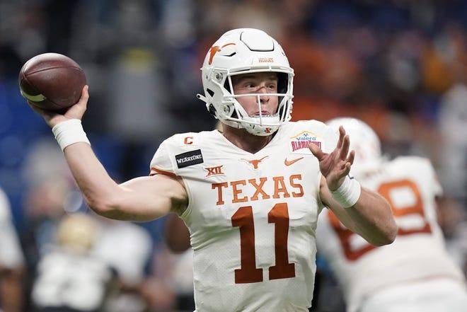 Texas' Sam Ehlinger is leaving the program as statistically UT's second best quarterback ever behind Colt McCoy. After starting four years, Ehlinger is prepping for April's NFL draft.