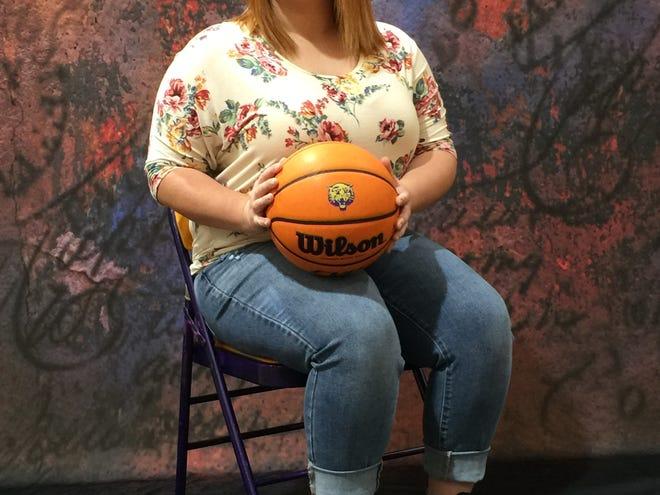 2020-21 Bearcat Basketball homecoming queen, Sarah Grissom.