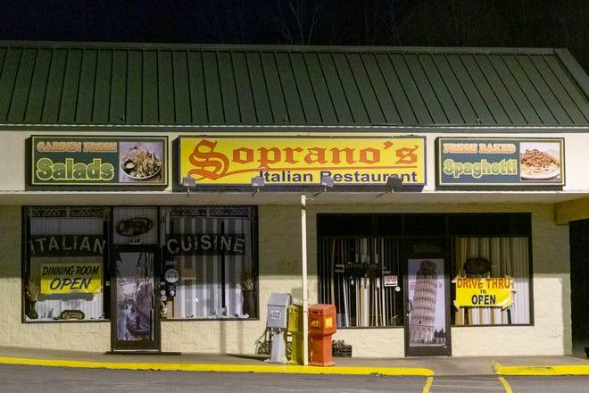 A woman was shot Tuesday night near Soprano's Italian Restaurant in Randleman.