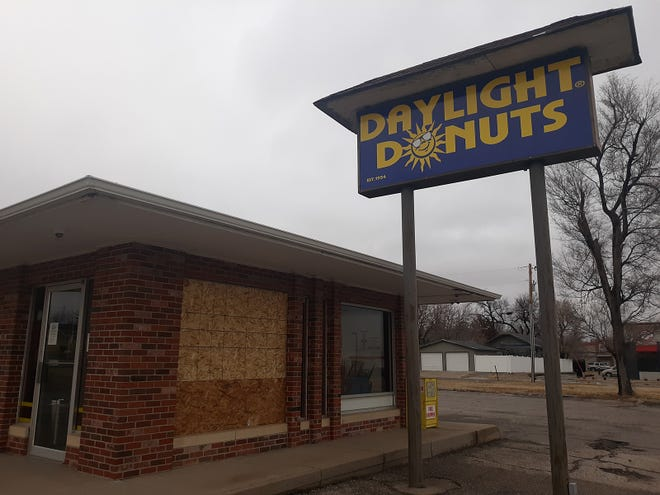 Daylight Donuts was forced to close on Tuesday due to a nighttime act of vandalism police say was committed by a teenager with a BB gun.