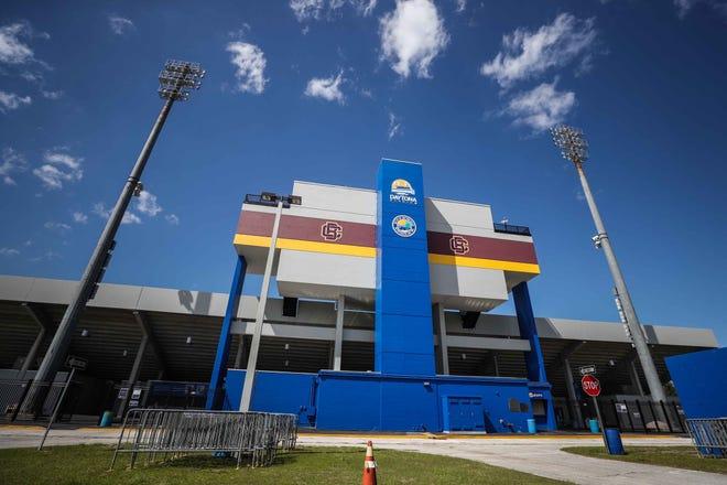 Municipal Stadium in Daytona Beach.
