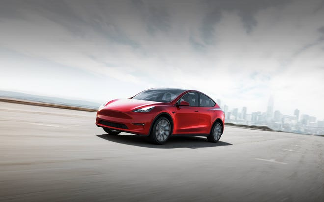 "Vehicles by Tesla will be available for test drives at the DeLand Municipal Airport on Jan. 30 as part of the ""Flyway to Highway"" event."