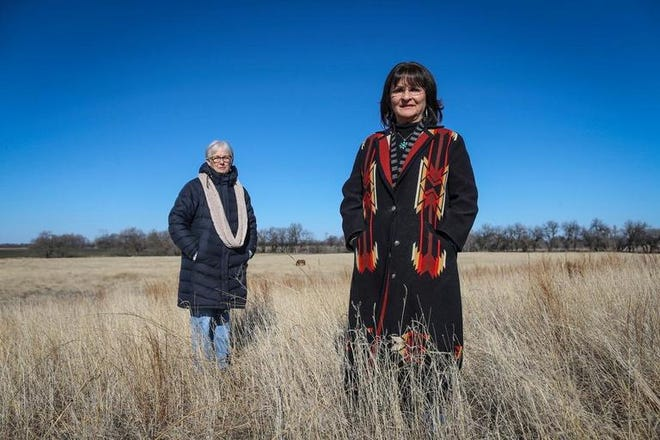 """Florence Schloneger and Pauline Sharp will share their family stories related to land ownership, economics, education and identity during """"Sunday Afternoon at the Museum."""""""