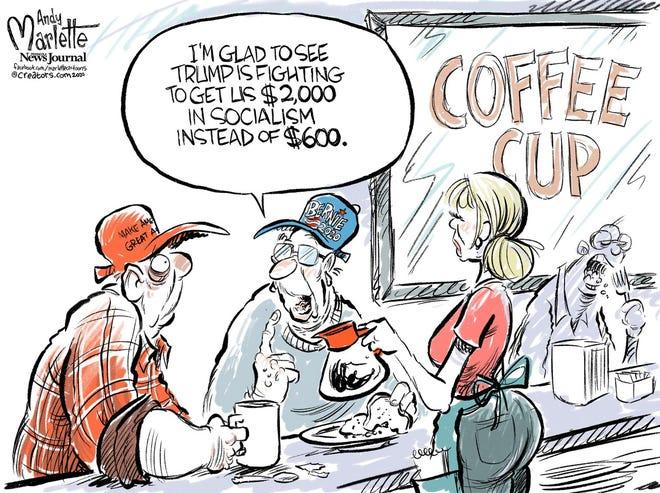 Today's editorial cartoon (Jan. 1, 2020)