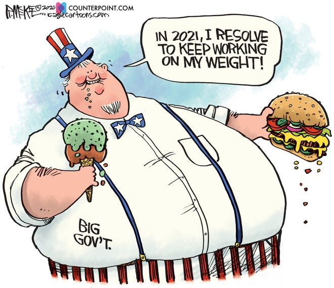 Today's editorial cartoon (Jan. 2, 2020)