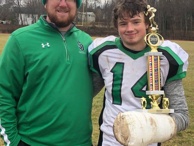 Sutton High School student-athlete David Place