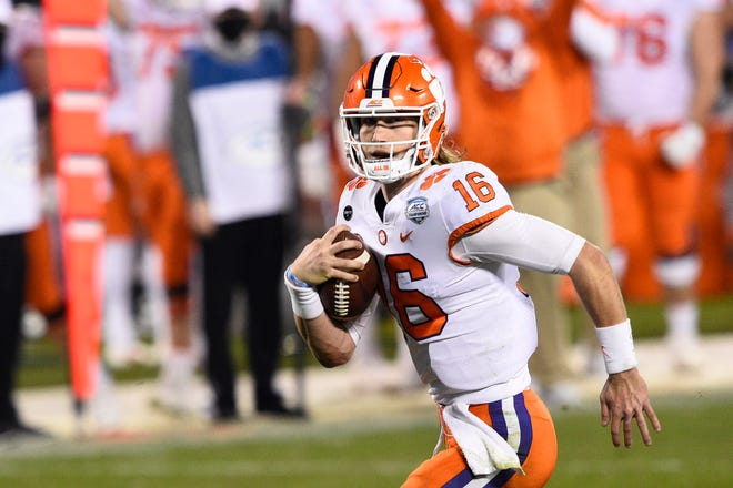 Quarterback Trevor Lawrence leads Clemson against Ohio State on Friday in the Sugar Bowl, one of the two College Football Playoff semifinal games.
