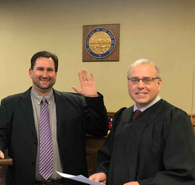 Stark County Family Court Judge David R. Nist (right) announced Wednesday that he will not seek a second term.