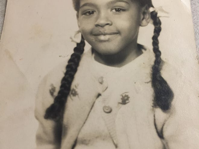 In the early 1950s, Carolyn Blackwell attended Rosenwald School in Providence, Kentucky from first grade through fourth grade.