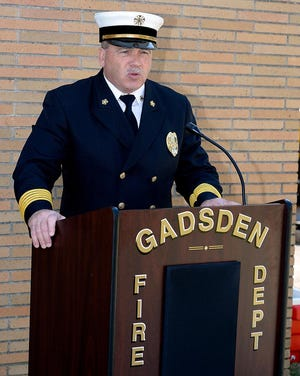 Gadsden Fire Chief Stephen Carroll is retiring after 21 and a half years as the department's chief.