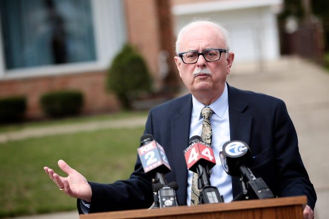 Dearborn Heights Mayor Dan Paletko in 2016.