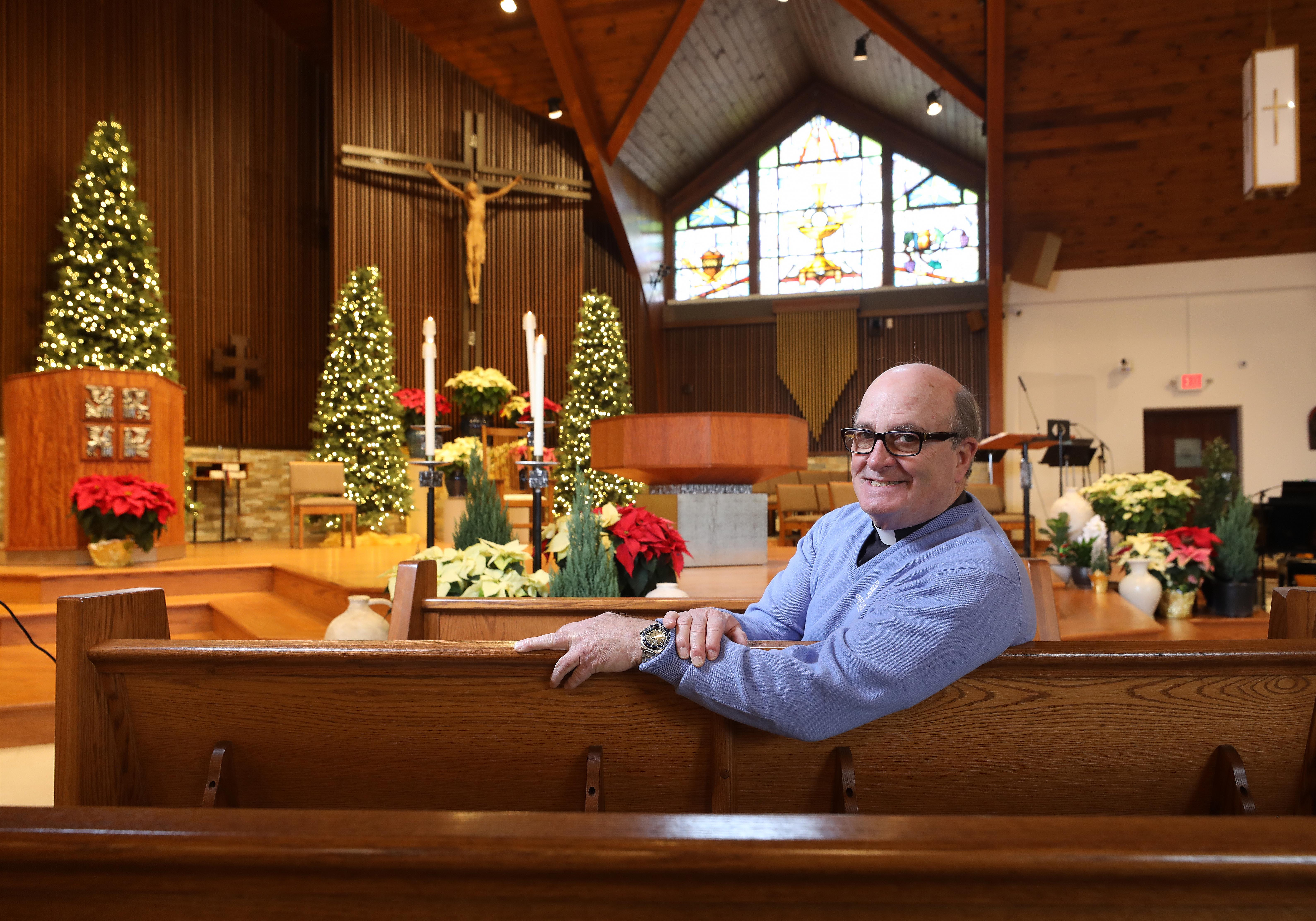 """The Rev. Robert Stagg of Upper Saddle River, N.J., has found young people still drawn to the church in times of need. """"A lot of Nones, once their mom has cancer, once their dad loses his job, once they have a scare or a death threat, you'd be surprised how they turn and say `what's it all about?'"""""""