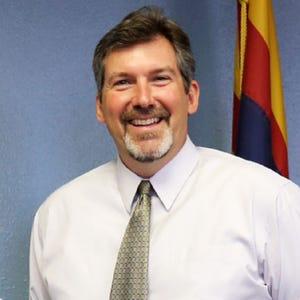 Former Arizona Department of Revenue director Carlton Woodruff.