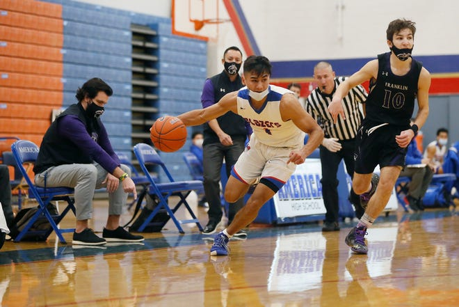 Franklin goes against Americas in a district 1-6A game Wednesday, Dec. 30, at Americas High School in El Paso.