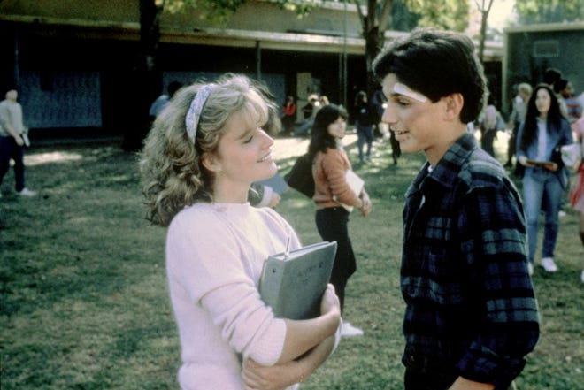 "Elisabeth Shue's Ali caught the eye of Ralph Macchio's Daniel in the 1984 feature ""The Karate Kid."""