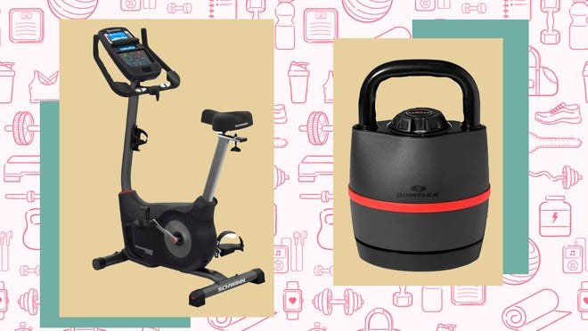 Kick-start your fitness goals with exercise equipment for less.
