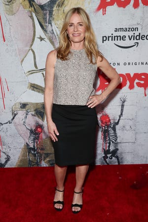 "Elisabeth Shue, snapped on July 19, 2019 in San Diego, reprises her ""Karate Kid"" role in the latest installment of ""Cobra Kai."""