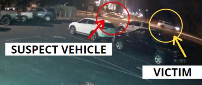 Austin police on Wednesday released security footage of what authorities believe were the vehicles involved in a fatal, road rage-related shooting that occurred over the weekend.