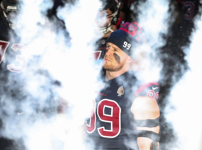Houston defensive end J.J. Watt has been one of the NFL's most dominant defensive players over the past 10 years, but his chances of playing in a Super Bowl are as remote now as they were the day the Texans drafted him.