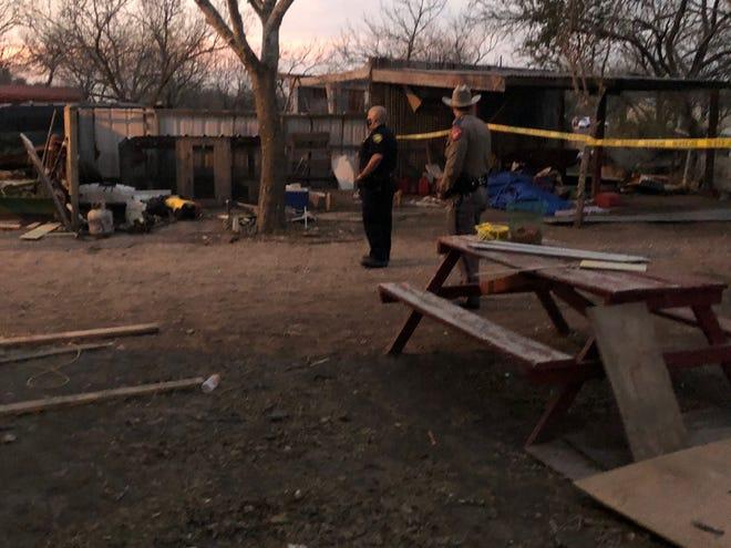 Detectives investigate homicide in Orange Grove.