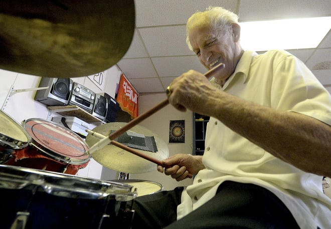 Mars Scarazzo, acclaimed as a drummer and music teacher, died Tuesday. The Aliquippa native was still playing drums as he turned 90 this year.