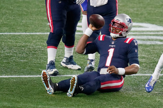 New quarterback Cam Newton failed to lead the New England Patriots to the playoffs in 2020, their first time missing the postseason since 2008. Newton took over when Tom Brady entered free agency in May.