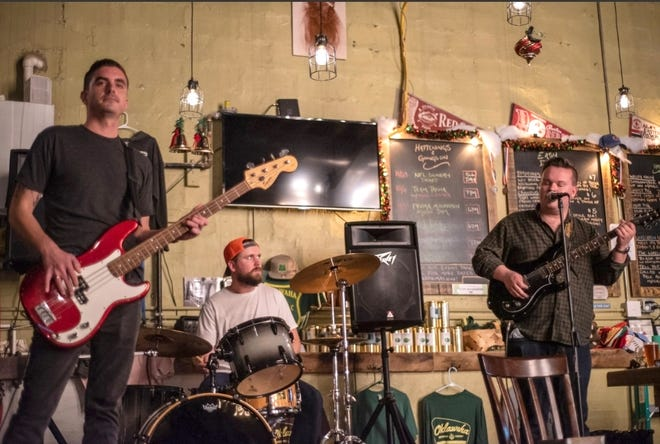 The Blue Ridge Pistols, a WNC band playing blues, rock, covers and originals, will ring in the new year Thursday from 5-7 p.m. at Triskelion Brewing Co. in downtown  Hendersonville.