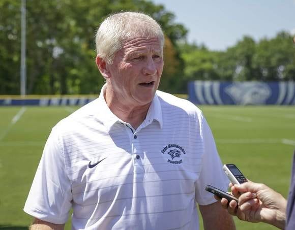 University of New Hampshire football coach Sean McDonnell is 'feeling great' and 'optimistic' about the scheduled spring football season. McDonnell missed the 2019 season after being diagnosed with bladder cancer, and has been away from the Wildcat sidelines for almost two years.