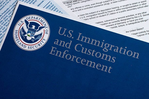 U.S. Immigration and Customers Enforcement