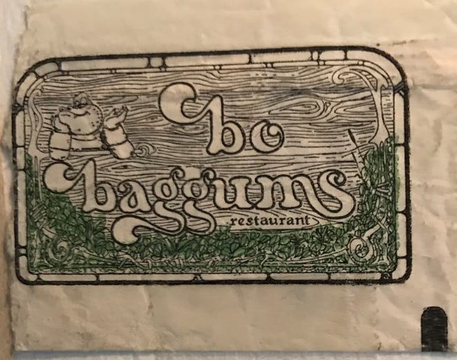 A sugar packet saved from the long-gone Westerly restaurant Bo Baggums.