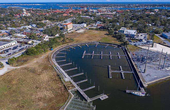 Developers are hoping to build a project, called Sebastian Inland Harbor, that would include a hotel, housing, a marina and commercial and retail space on about 13 1/2 acres west of Riberia Street and south of King Street in St. Augustine.