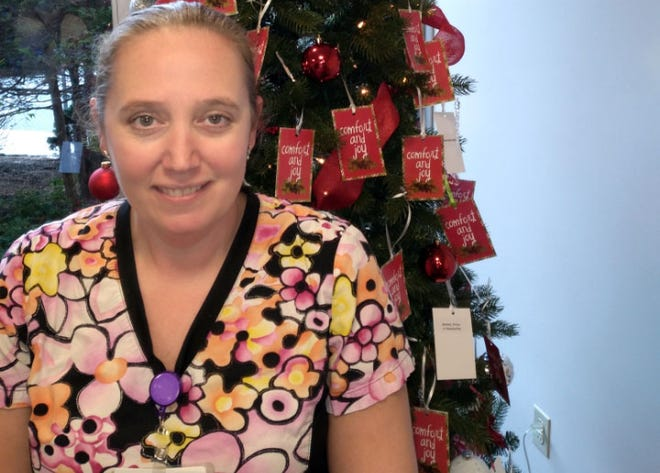Jennifer Bray, certified nursing assistant in the ambulatory care unit at Day Kimball Hospital in Putnam, has been named employee of the month for December.