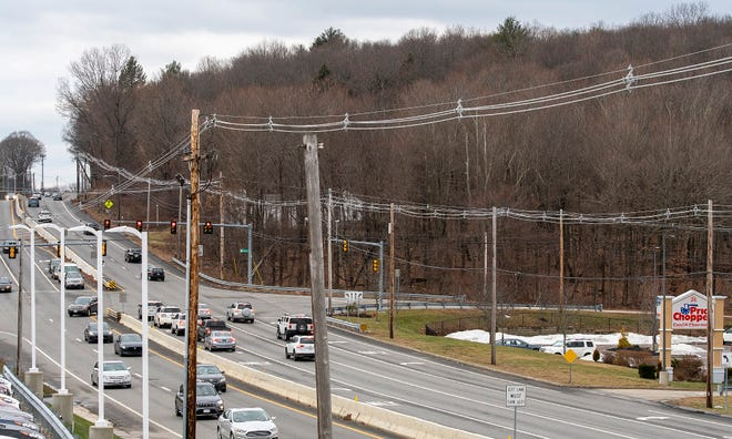 Properties at 701 and 713 Boston Turnpike were purchased by Boch Shrewsbury - Worcester. The property, which is mostly woods, is on the westbound side of Route 9 after Price Chopper and South Street.