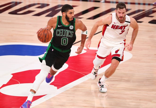 Boston's Jayson Tatum took the next step as one of the NBA's elite players in the 2019-20 season.