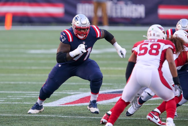 New England seems to have found a keeper in offensive lineman Michael Onwenu.