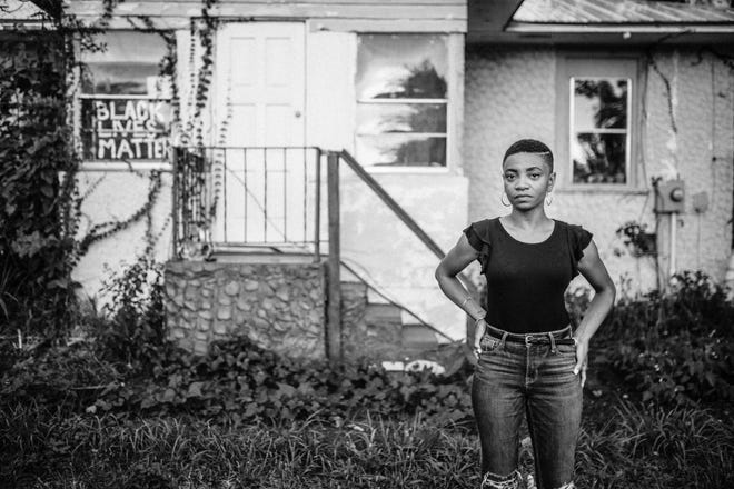 Social justice and community activist Aeriel Lane is honored with prestigious 2021 Hall of Fame Award by the Martin Luther King Jr. Commission of Florida Inc.