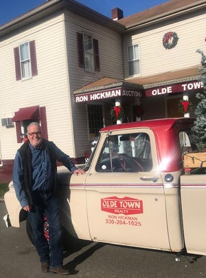 Ron Hickman is always ready to do business in Newcomerstown.