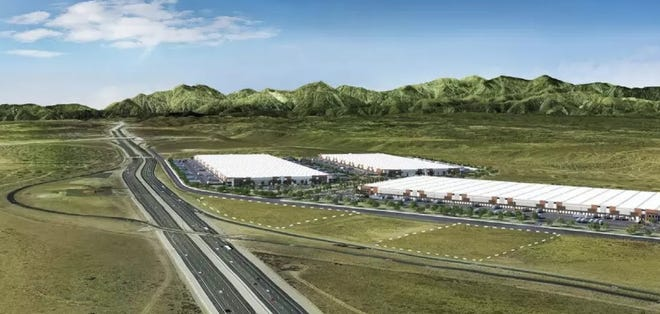 The opening of Modway's 1 million square-foot distribution center is one of several new business developments coming to Hesperia in 2021.