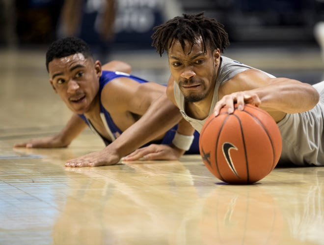 Xavier forward Ben Stanley, a transfer from Hampton, played in only four games before he tore the ACL in his knee against St. John's Wednesday night, ending his season. He averaged 6.0 points and 1.8 rebounds.