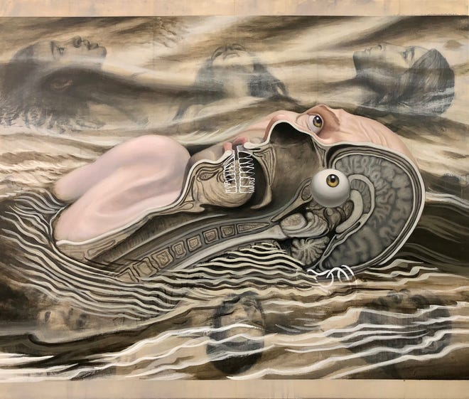 """Marco Island Center for the Arts will present """"The Gathering"""" a solo exhibition artist Juan Diaz."""