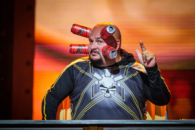 """Jamie """"Can Head"""" Keeton of Kenosha will bring his, um, magnetic talents to """"Go-Big Show,"""" TBS' extreme-talent competition show on Jan. 7."""