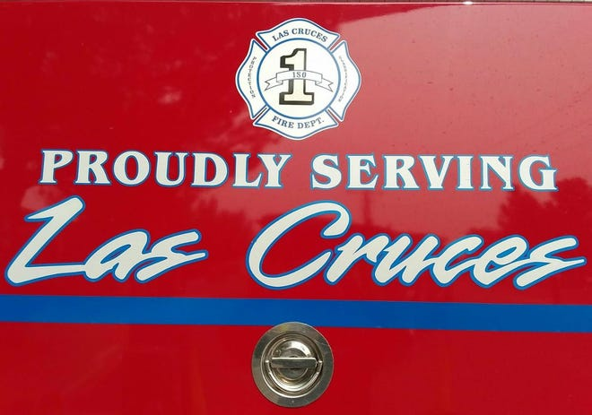 The Las Cruces Fire Department responded to simultaneous fires and a hazardous materials aid request on Thursday, Dec. 31, 2020.