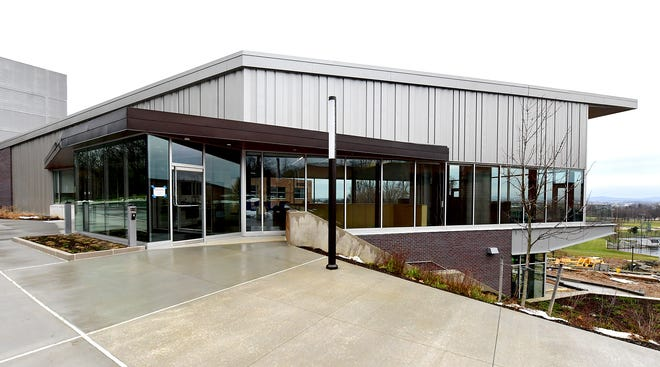 The Graham Center at Penn State York, Thursday, Dec. 31, 2020, is slated to open in January.  Bill Kalina photo