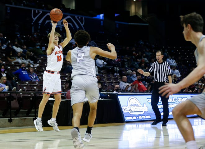 The Republic Tigers took on the Logan-Rogersville Wildcats at JQH Arena in semifinal round of the Gold Division of the Blue and Gold Tournament on Wednesday, Dec. 30, 2020.