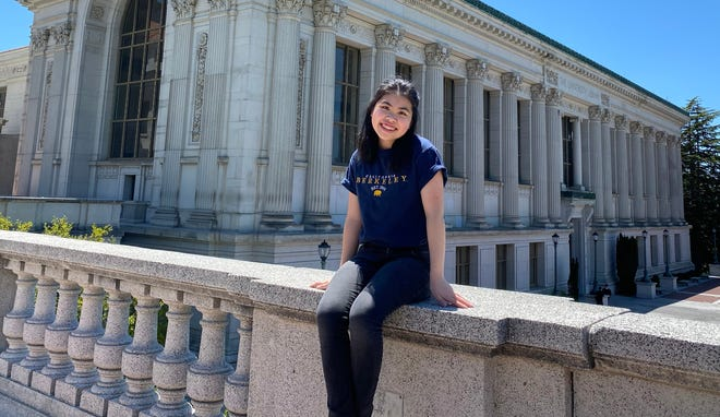 Christina Lin on the UC Berkeley campus. A simple test to check for a cerebral creatine deficiency syndrome as an infant  and subsequent treatment prevented developmental delays .