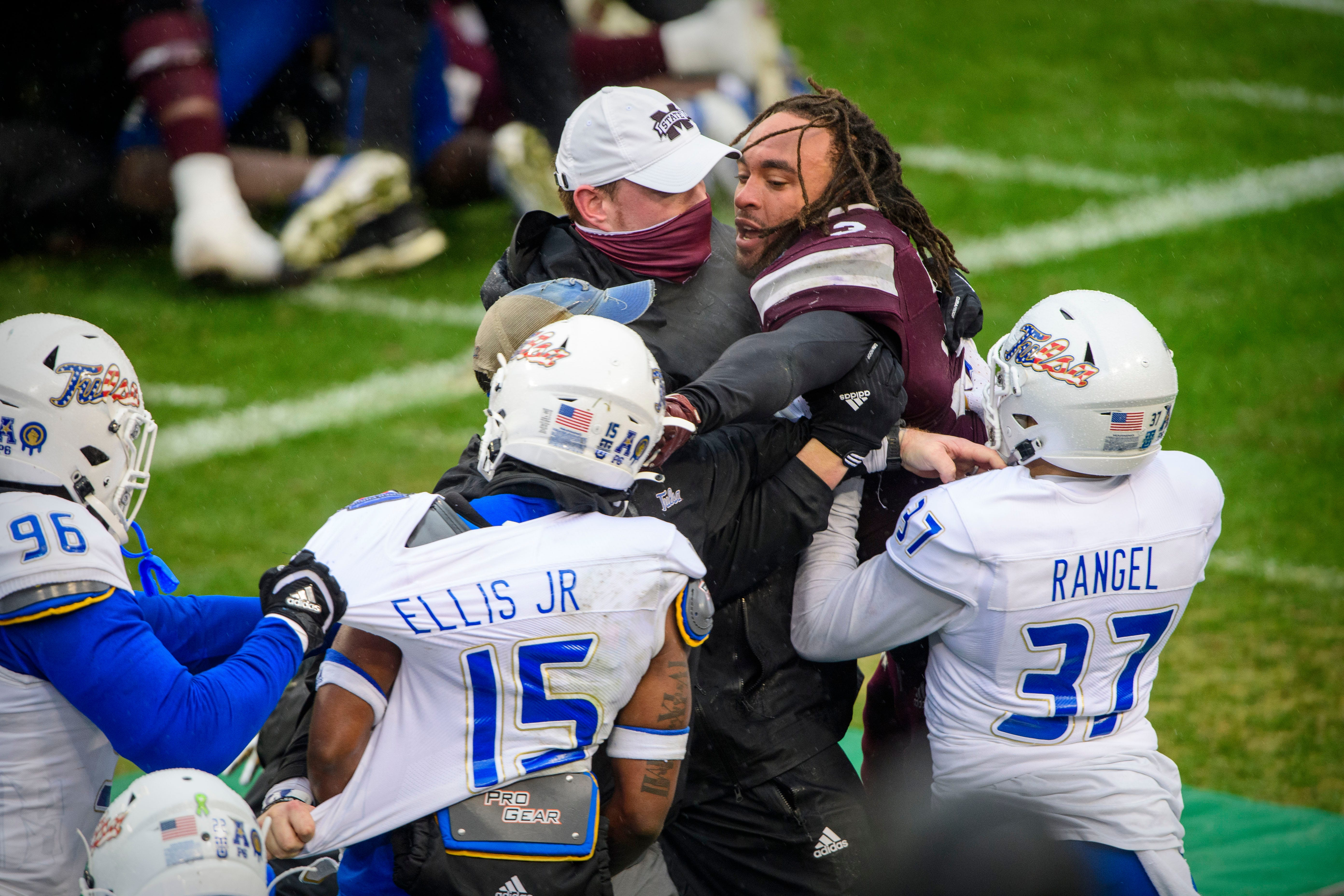 Mississippi State AD John Cohen  deeply concerned  about bowl brawl with Tulsa